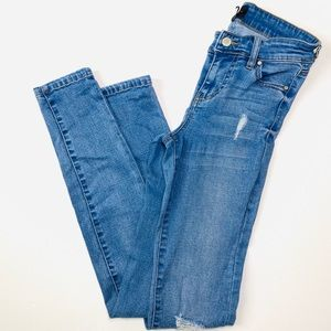 Celebrities Pink ripped jeans woman's size 26